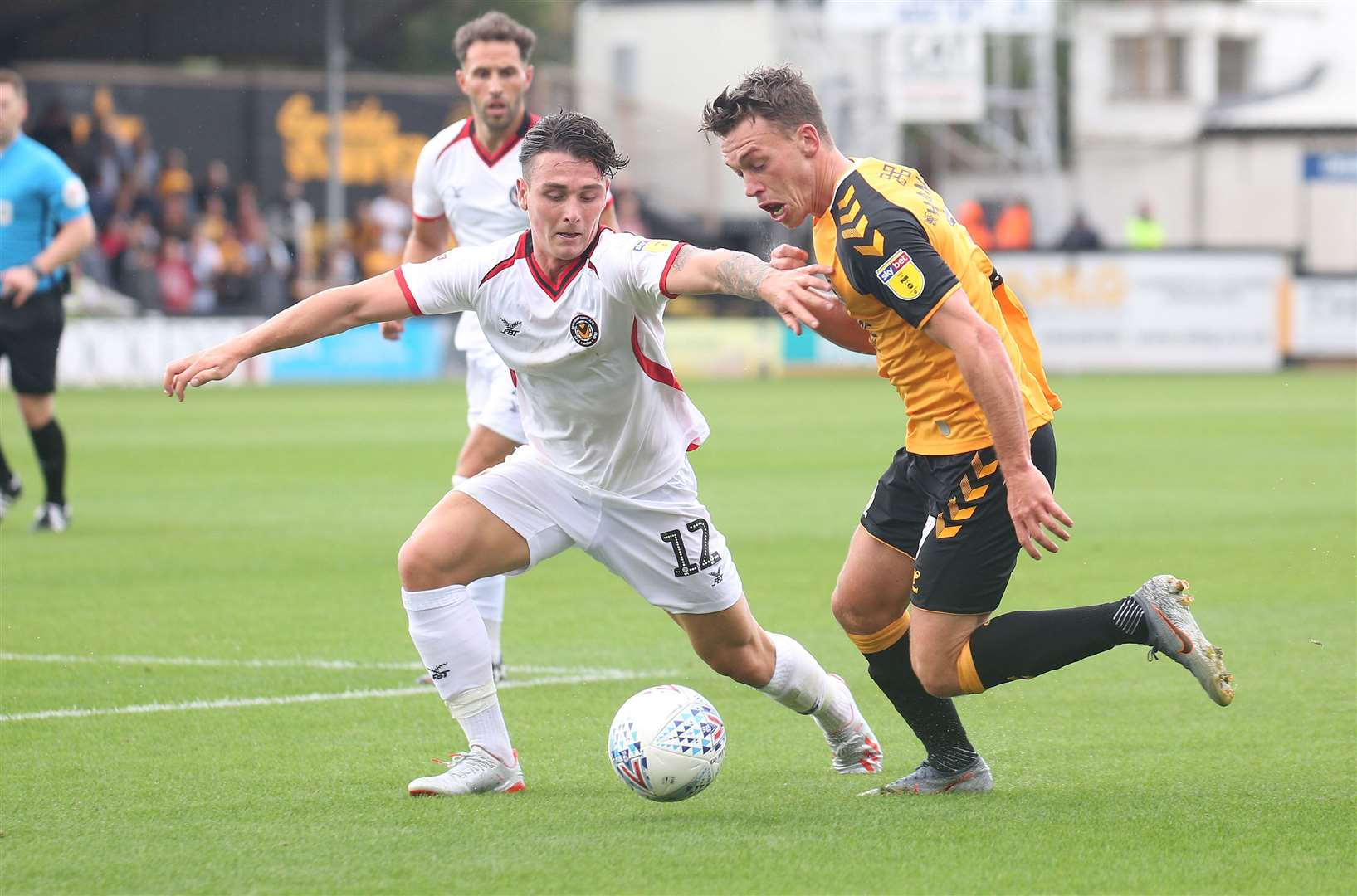Luke Hannant could be set to return for the U's at Salford City. Picture: Richard Marsham