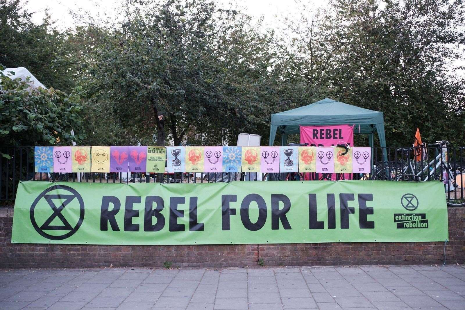 Extinction Rebellion will continue to battle for life, addressing the more immediate threat of the coronavirus pandemic as public campaigns are suspended. Picture: Tom Dorrington