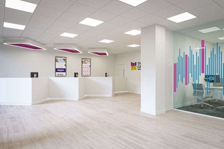 The Cambridge Building Society's new Cherry Hinton store