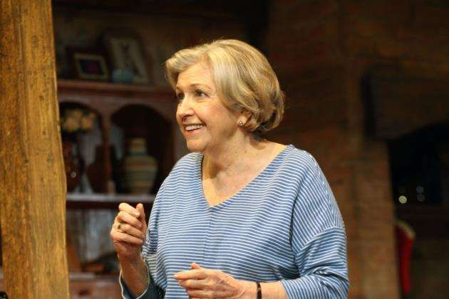 Anne Reid as Elizabeth in Fracked!, picture: Catherine Ashmore