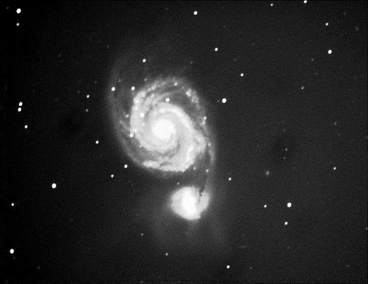 The Whirlpool galaxy. Picture: Paul Fellows