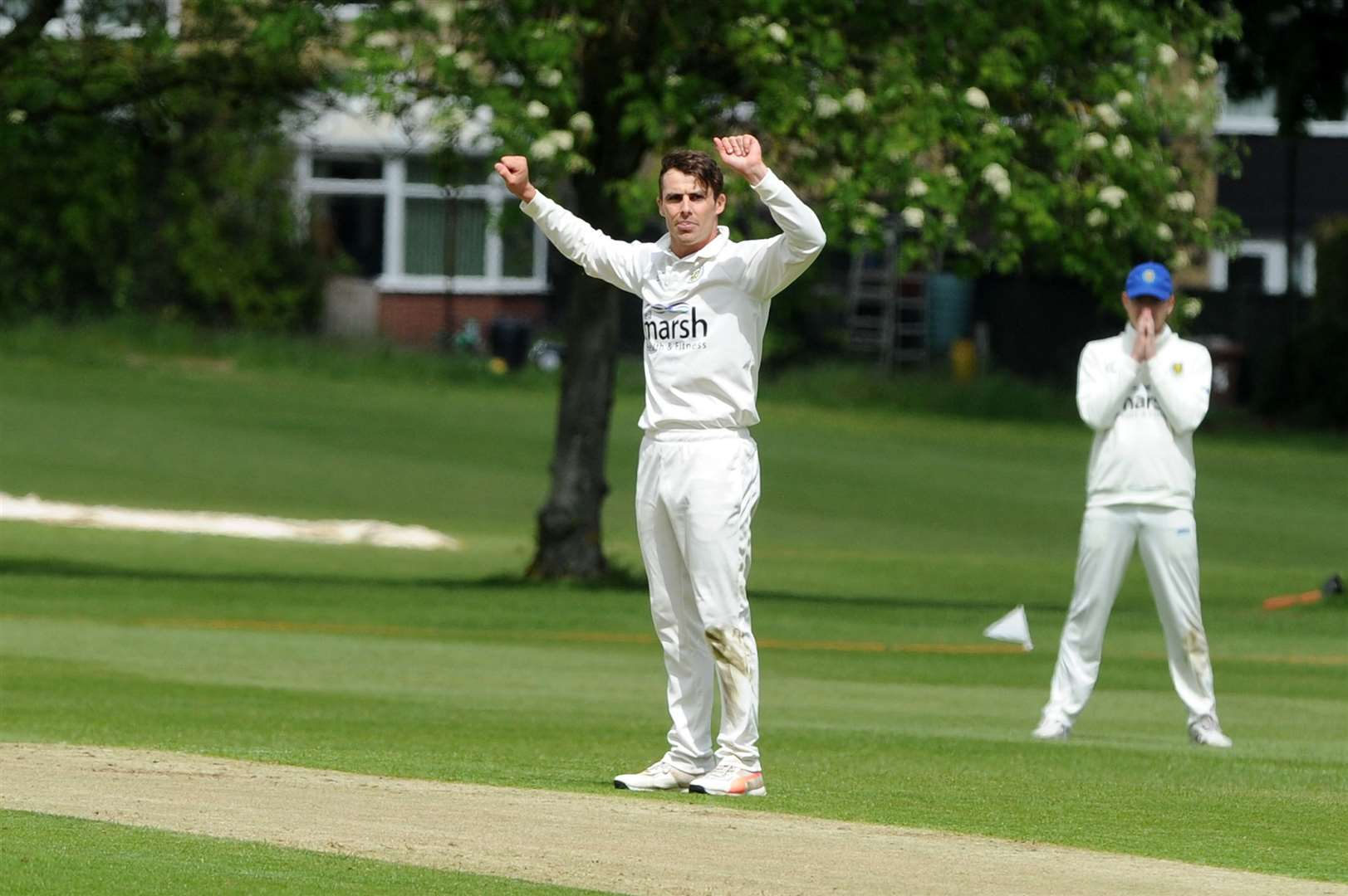 Peter Younghusband put in the star performance for Cambridge. Picture: Mecha Morton