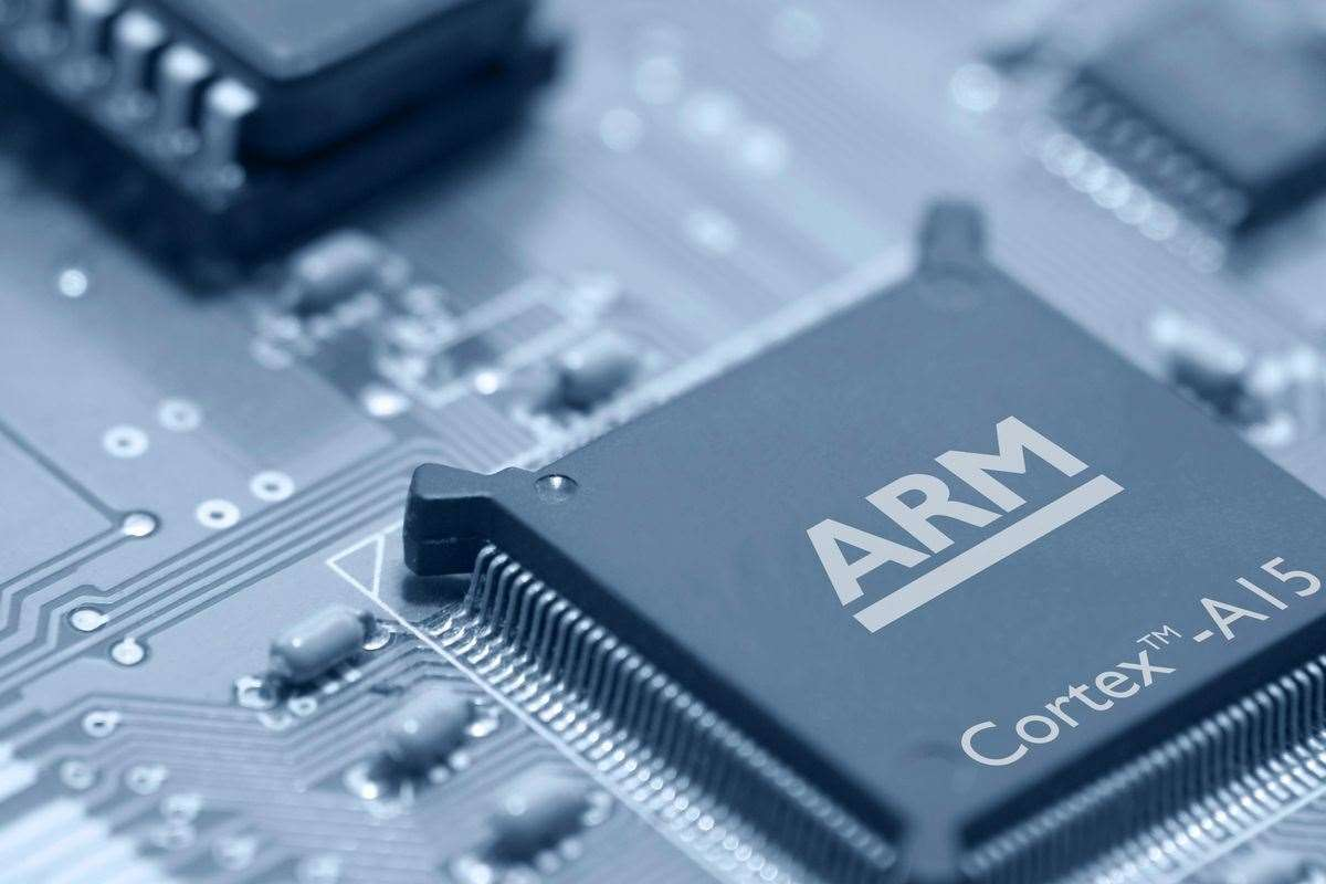 Arm technology is in 95 per cent of mobile phones