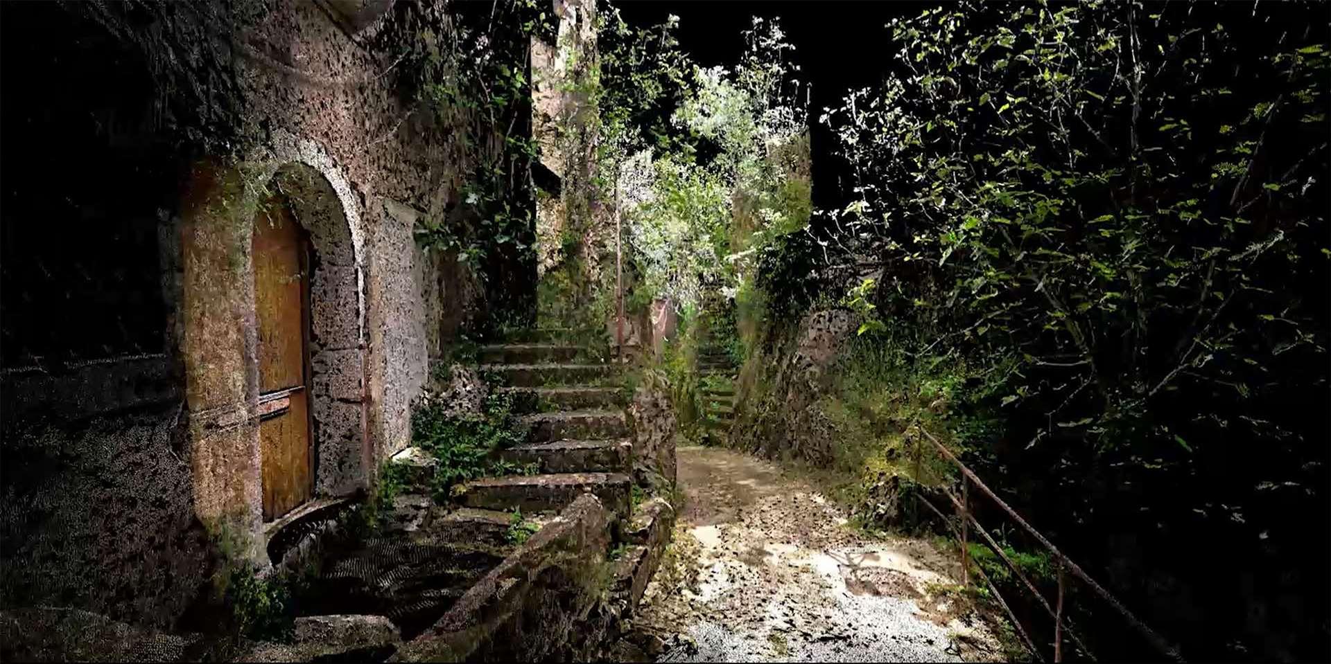 Un'immagine dal film Italia Terremotta.  Immagine: Anglia Ruskin University
