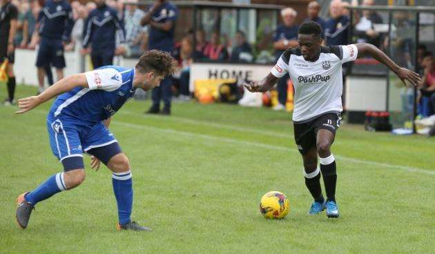 Cambridge City v Bedford Town - Nathan OlunkanmiPicture - Richard Marsham