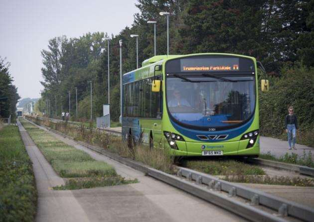 Guided Busway, Cambridge. Picture: Keith Heppell