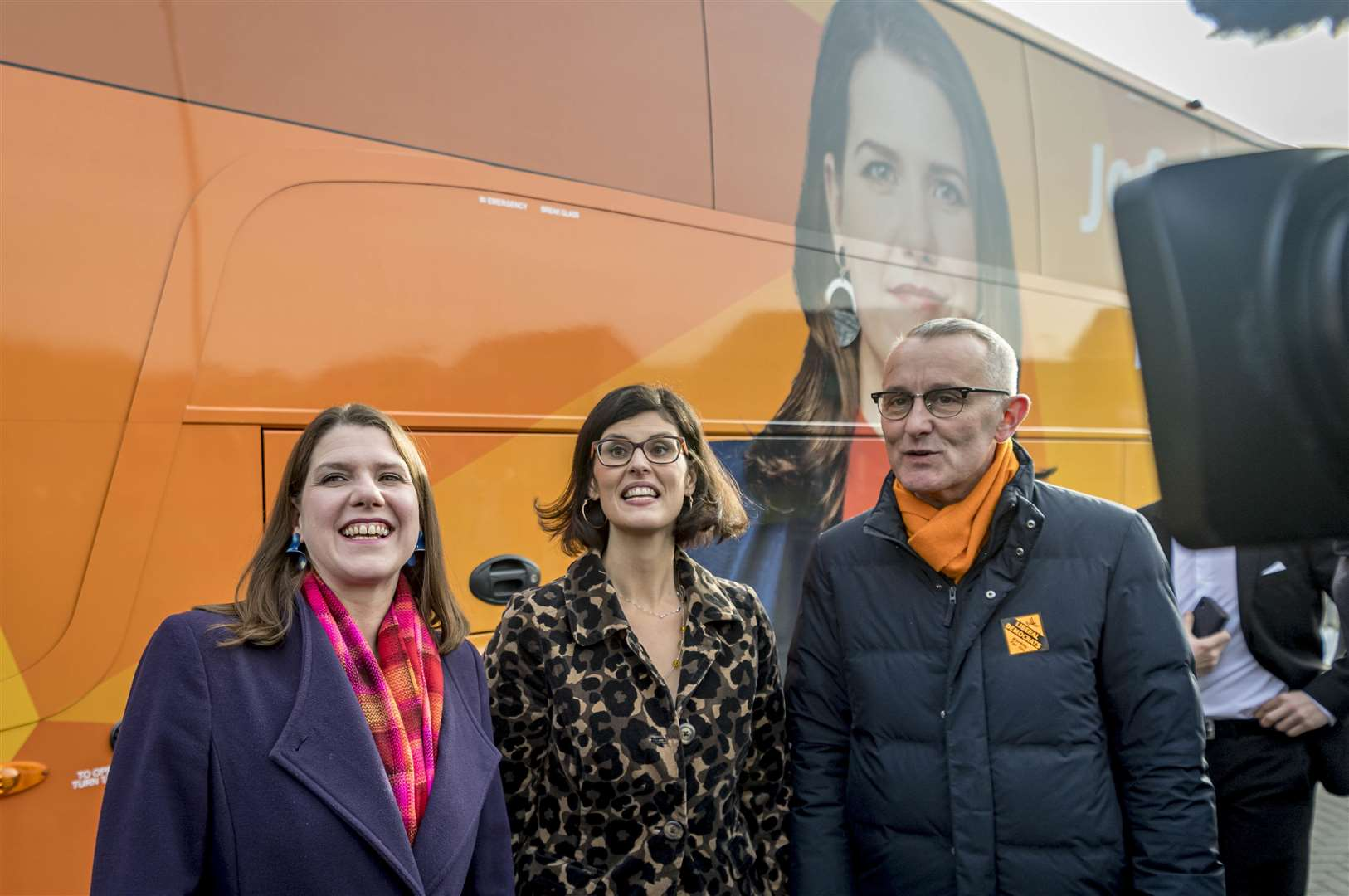 Jo Swinson, Leader of the Liberal Democrats, visits Trumpington Park Primary School. Picture: Keith Heppell. (22108771)