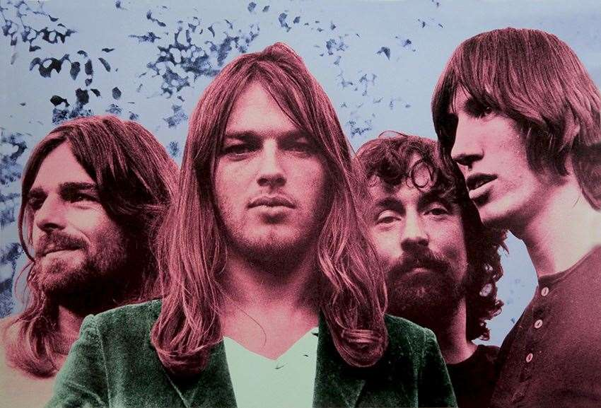 The Pink Floyd screenprint, priced £1,500, is exclusively available at The Art Hound Gallery at Burwash Manor (32094263)