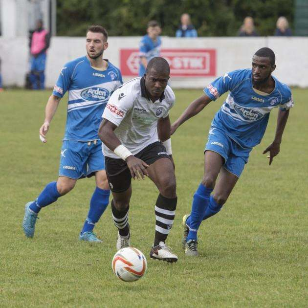 Cambridge City Fc v Strattford Town at St Ives Football Club. Tunde Adewunmi . Picture: Keith Heppell