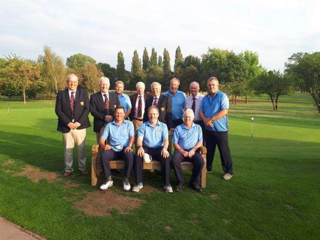 Cambridgeshire seniors golf team