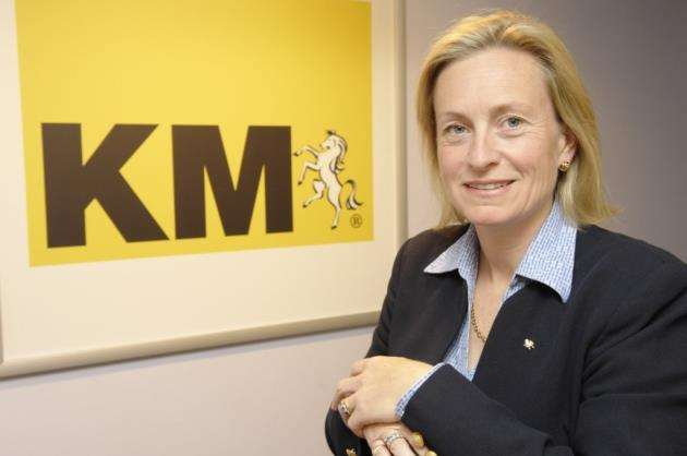 KM Media Group chairman Geraldine Allinson