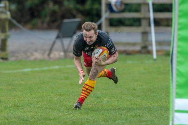 Mike Ayrton in action for Cambridge against Hull Ionians. Picture: Chris Fell