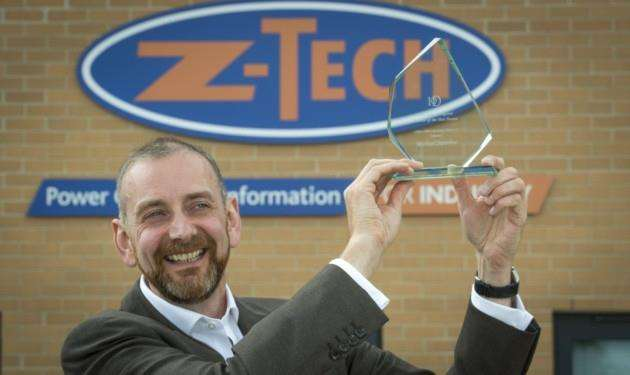 30 06 16 Michael Swinhoe MD of Z-Tech, Z-Tech Control Systems Ltd, Unit 4 Meridian, Buckingway Business Park, Anderson Road, Swavesey, Cambridge for the IOD Cambridgeshire magazine. Picture: Keith Heppell