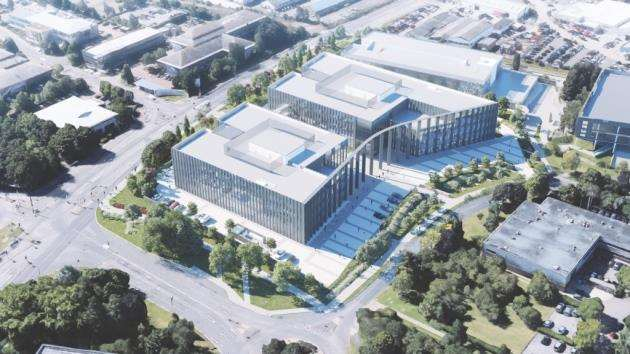 200,000 sq ft building on Cambridge Science Park granted