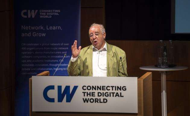Dr David Cleevely at CWIC2018, Wellcome Trust Conference Centre, Hinxton. Picture: Keith Heppell