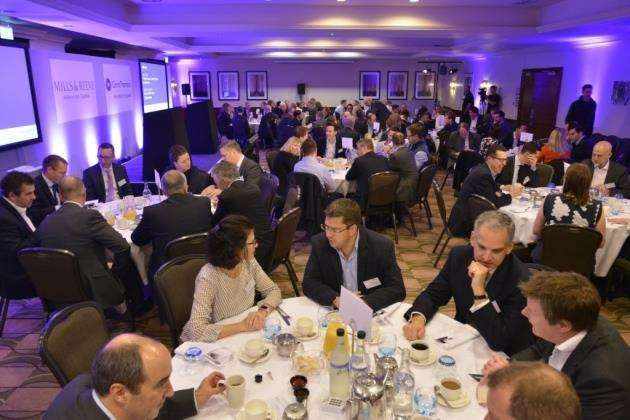 Business leaders gather at The Doubletree by Hilton Belfry Hotel in Cambourne for the Cambridgeshire Ltd 2018 event
