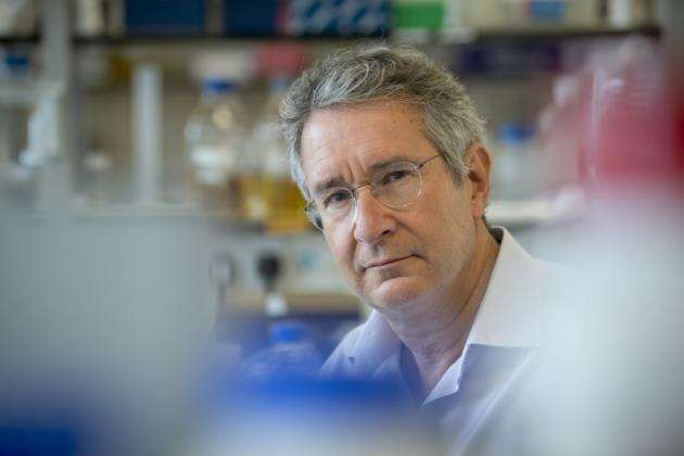 Prof Jonathan Heeney worked with international researchers on an HIV vaccine study. Picture: Keith Heppell