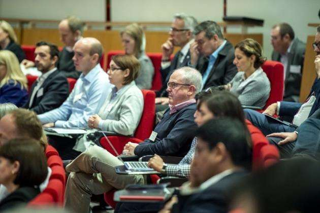 The audience heard about the potential of the NHS in an era of innovation. Picture: Keith Heppell