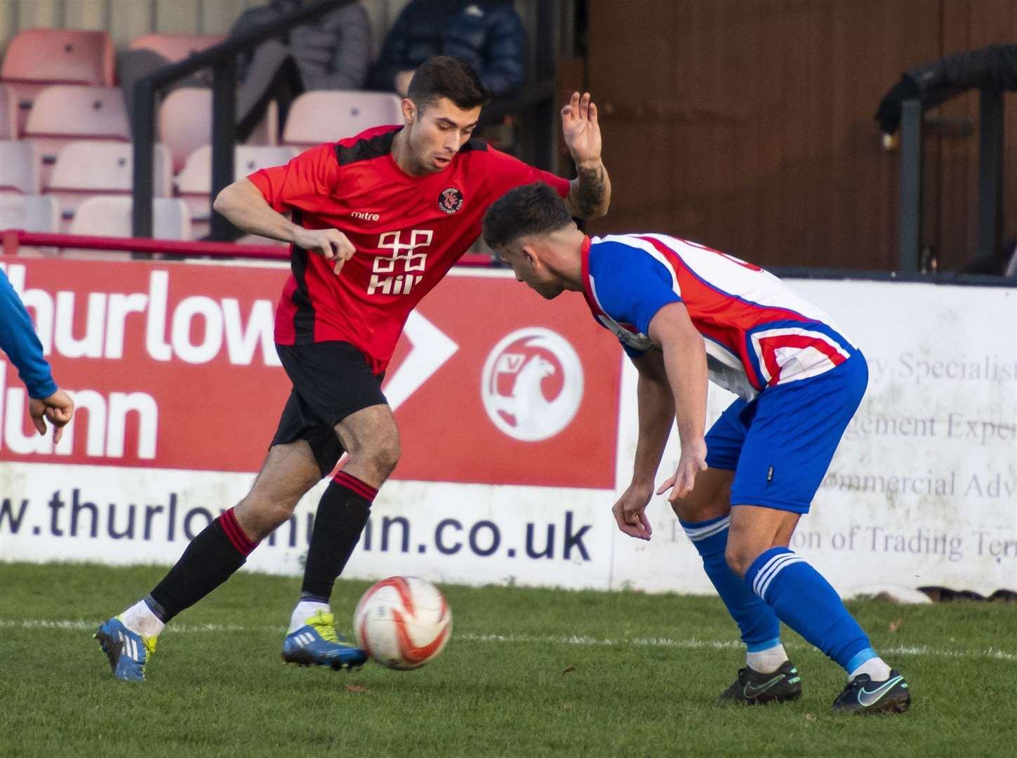 Danny Gould in action for Histon. Picture: Keith Heppell