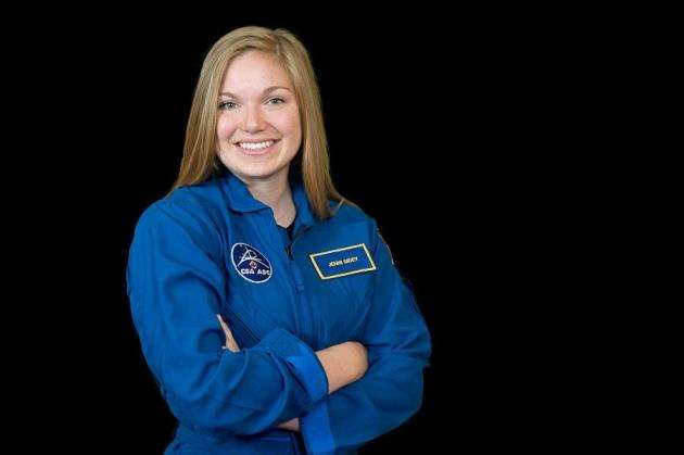 Jenni Sidey. Picture: Canadian Space Agency