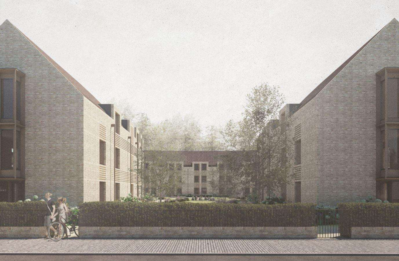 King's College student accomodation plan for Barton Road.(6164354)