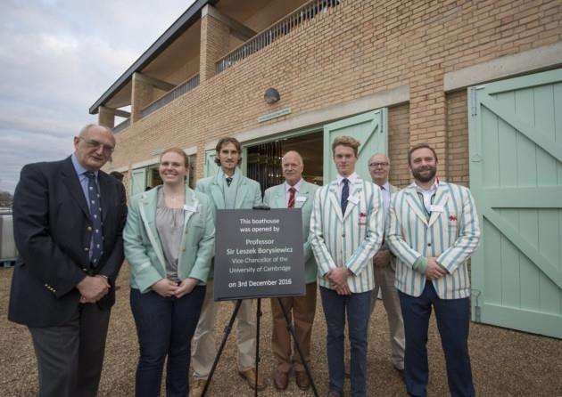 Cambridge University new boathouse on the outskirts of Ely, official opening. Picture: Keith Heppell