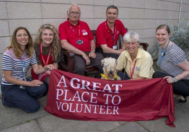 Volunteers at Addenbrookes Picture: Keith Heppell