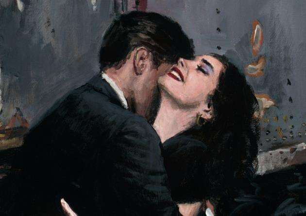 The Train Station by Fabian Perez