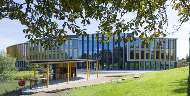 The Bradfield Centre on Cambridge Science Park showcases the new era that the site is embarking upon. Picture: Keith Heppell