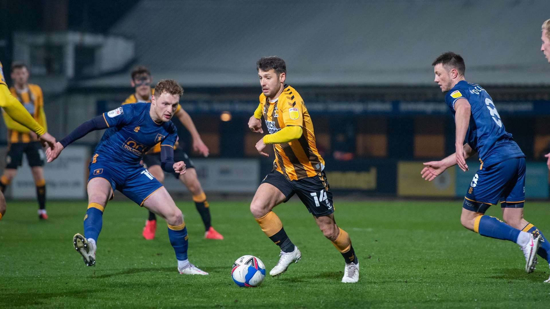 Wes Hoolahan and Harrison Dunk set to return to the fold for Cambridge  United's trip to Bradford City in Sky Bet League Two