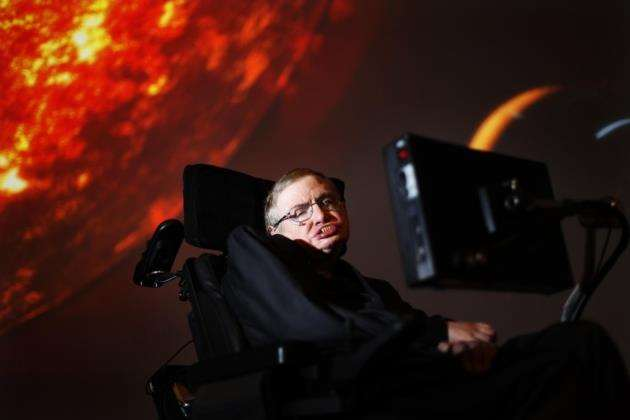 Professor Stephen Hawking died on March 14, 2018. Picture:: David Parry