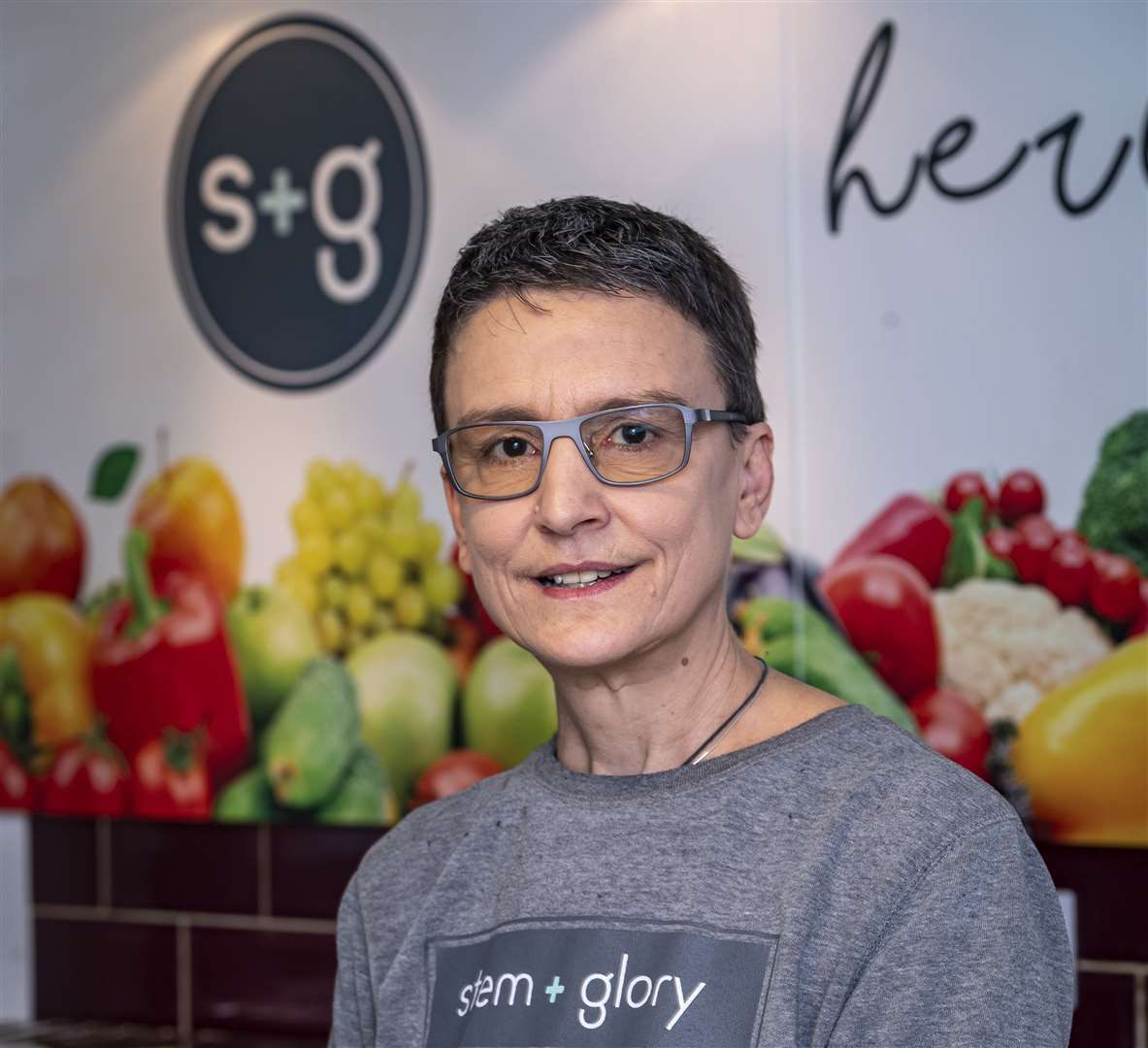 Stem and Glory - Seven top tips to make your Veganuary a success, Louise Palmer-Masterton. Picture: Keith Heppell. (34043124)