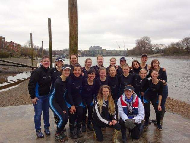 Lucy Cavendish Boat Club rowers who will be taking part in the May Bumps. Picture: Kate Coghlan