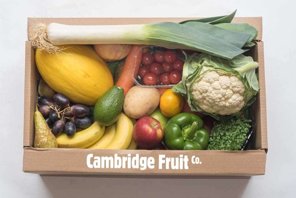 The Cambridge Fruit Company has expanded its online offering. (36813295)