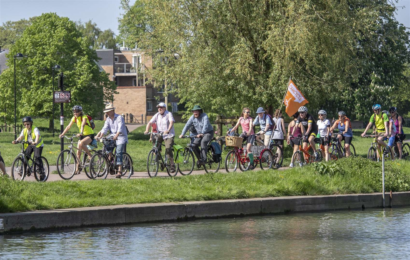 Cambridge to Reach Fair tradtional cycle rideorganised by Camcycle . Picture: Keith Heppell. (9586959)